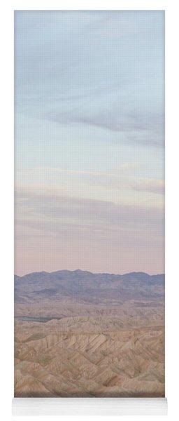 A Peaceful Desert Night No.1 Yoga Mat