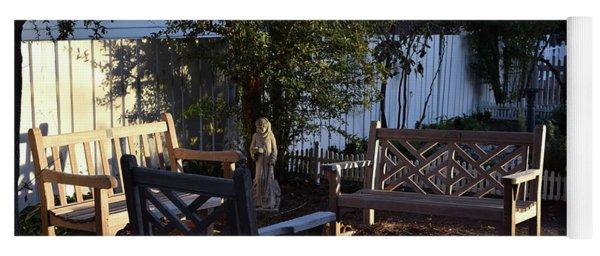 A Peaceful Sitting Area Yoga Mat