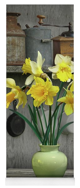 A Place For Daffodils Yoga Mat