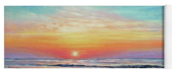 A Promising Beginning - Sunrise On The Outer Banks Yoga Mat