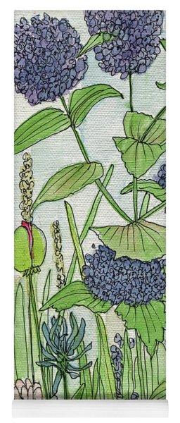 A Single Poppy Wildflowers Garden Flowers Yoga Mat