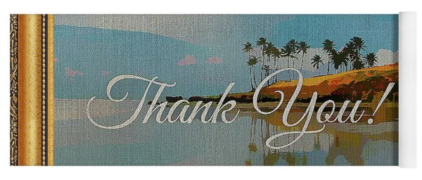 A Thank You Gift Yoga Mat