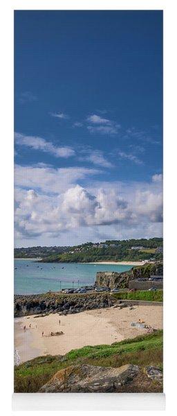 A Walk To Porthgwidden Beach - St Ives Cornwall Yoga Mat