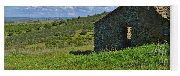 Abandoned Cottage In Alentejo Yoga Mat