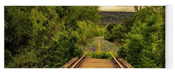Abandoned Railroad Yoga Mat