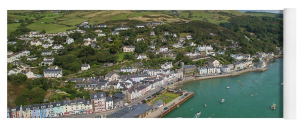 Aberdyfi From The Air Yoga Mat