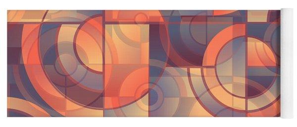 Abstract 3 Yoga Mat