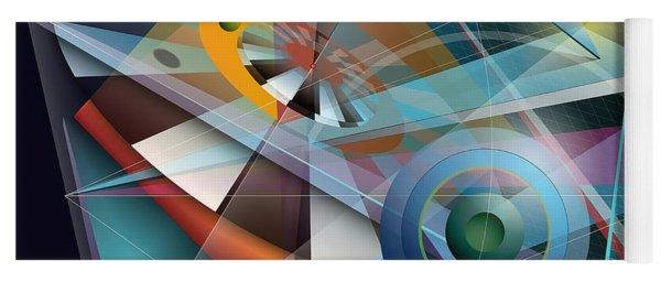 Abstract 4 Yoga Mat