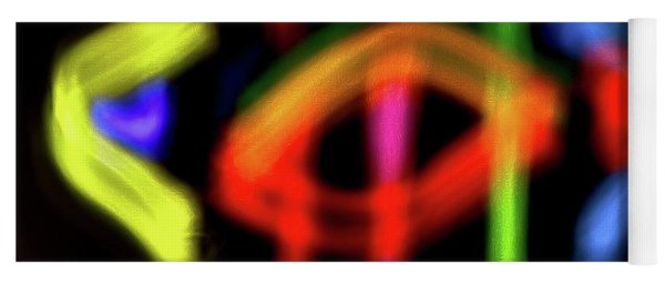 Abstract 48 Yoga Mat