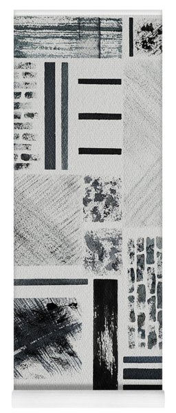 Abstract Collage Yoga Mat