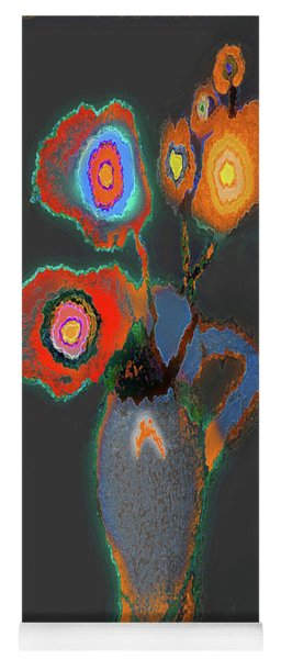 Abstract Floral Art 367 Yoga Mat
