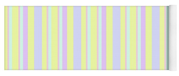 Abstract Fresh Color Lines Background - Dde595 Yoga Mat