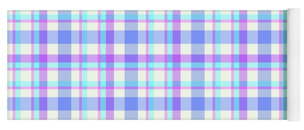 Abstract Squares Background - Dde598 Yoga Mat