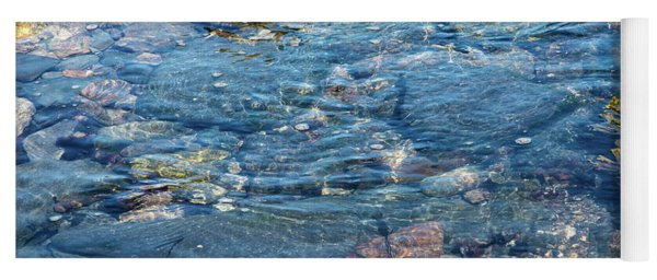 Abstract Water Yoga Mat