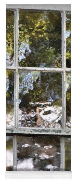 Abstract Window Reflections Yoga Mat