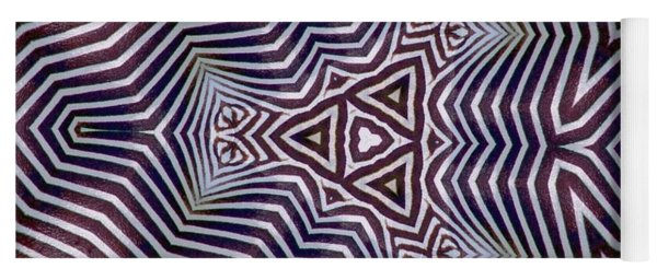 Abstract Zebra Design Yoga Mat