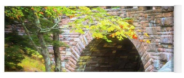 Acadia National Park - Amphitheater Bridge Yoga Mat