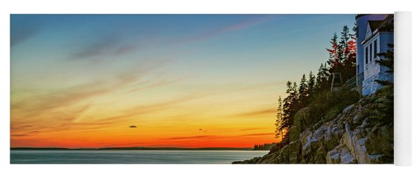 Acadia Sunset Yoga Mat