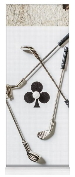 Ace Of Clubs Yoga Mat