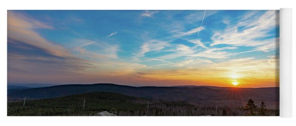 Achtermann Sunset, Harz Yoga Mat