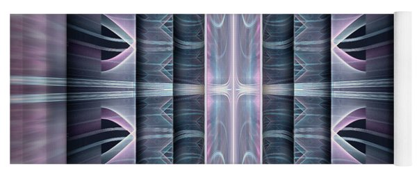 Yoga Mat featuring the digital art Acts by Missy Gainer
