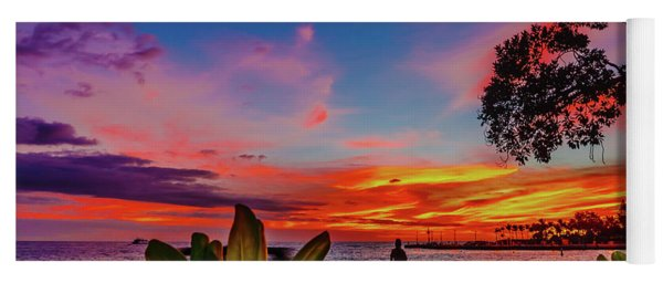 After Sunset Colors Yoga Mat