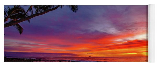 After Sunset Vibrance Yoga Mat