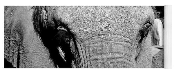 Aged Friend - Elephant Yoga Mat