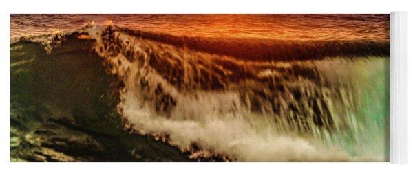 Ahh.. The Sunset Wave Yoga Mat