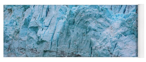 Alaskan Blue Glacier Ice Yoga Mat