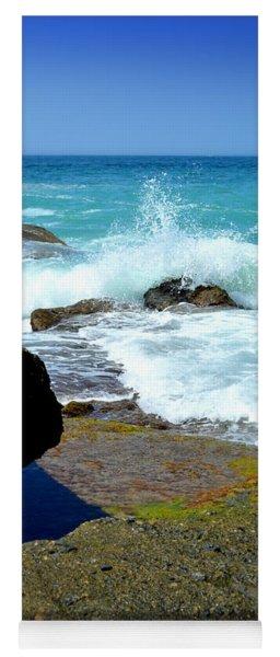 Aliso Point Rocks - Laguna Beach Yoga Mat