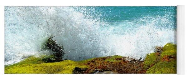 Aliso Point Splash - Laguna Beach Yoga Mat