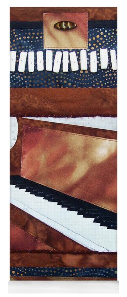 All That Jazz Piano Yoga Mat