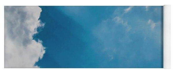 Colours. Blue. Alone. Yoga Mat