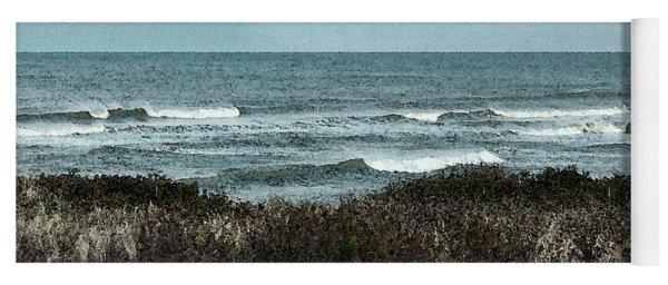 Along Cape Cod II - Watercolor Yoga Mat