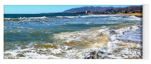 Along The Ventura Coastline Yoga Mat