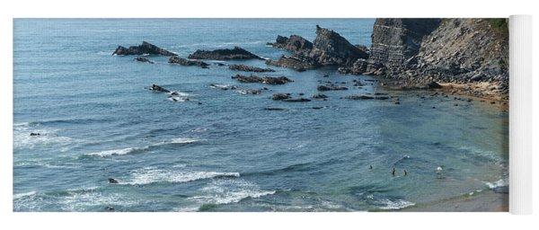 Amalia Beach From Cliffs Yoga Mat