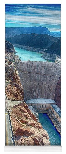 Amazing Hoover Dam Yoga Mat