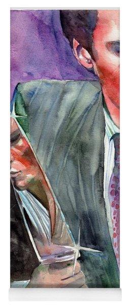 American Psycho Painting Yoga Mat