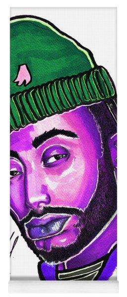 Amine Purple Yoga Mat
