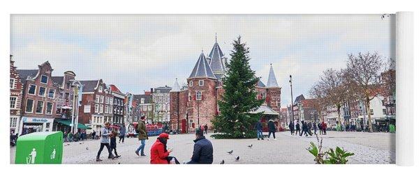 Amsterdam Christmas Yoga Mat