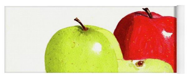 An Apple A Day Yoga Mat