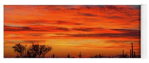 An Arizona Sky Yoga Mat