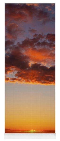 Yoga Mat featuring the photograph An Oklahoma Sunsrise by Rick Furmanek