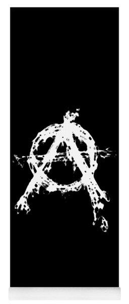 Anarchy Graphic Yoga Mat