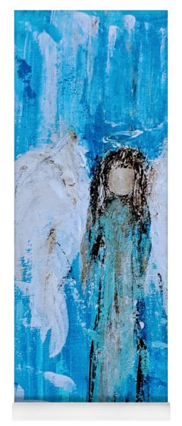 Angel Among Angels Yoga Mat
