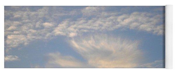Angel In The Sky Yoga Mat