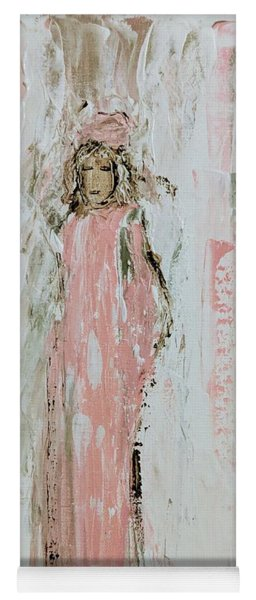 Angels In Pink Yoga Mat