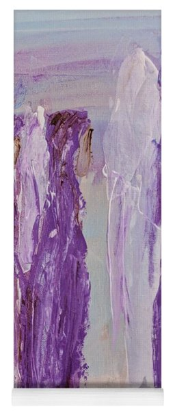 Angels In Purple Yoga Mat