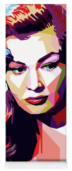 Anita Ekberg Pop Art Yoga Mat